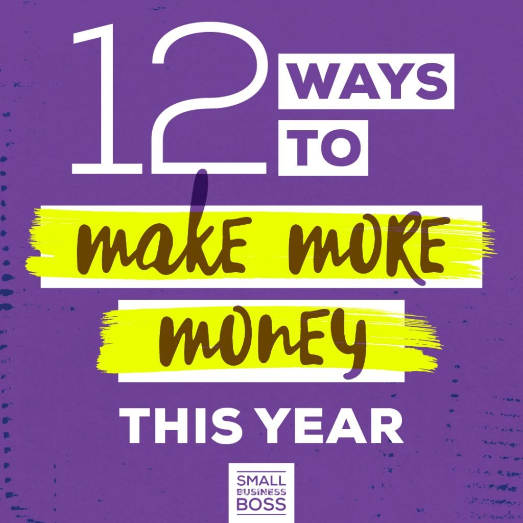 12 Ways to Make More Money This Year SQ