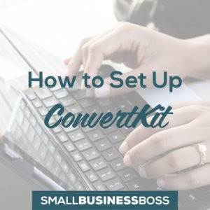 how to set up convertkit