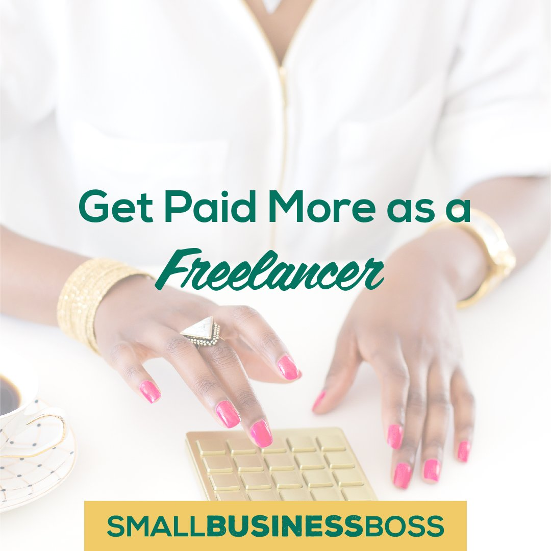 Get paid more as a freelancer