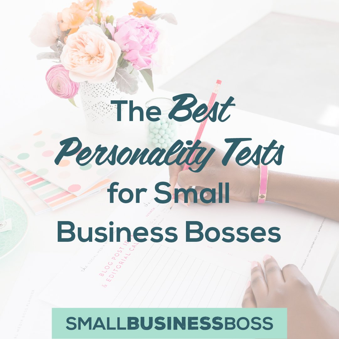 Best personality tests for small business