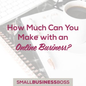how much can you make with an online business