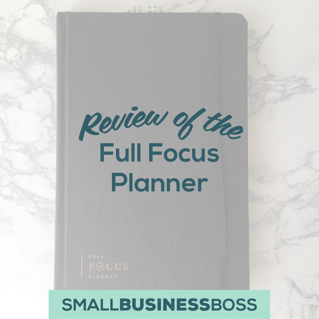 Review of full focus planner