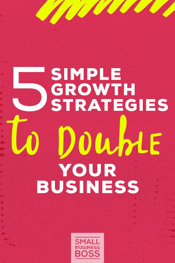 There's no shortage of people online selling big biz dreams and promising 10K months if you just buy into their super special system. But why send your money down the drain when we already know that keeping it simple is always a winning strategy? *Pin this post to learn 5 simple growth strategies to double your business.* #moremoney #businessgrowth #businesstips