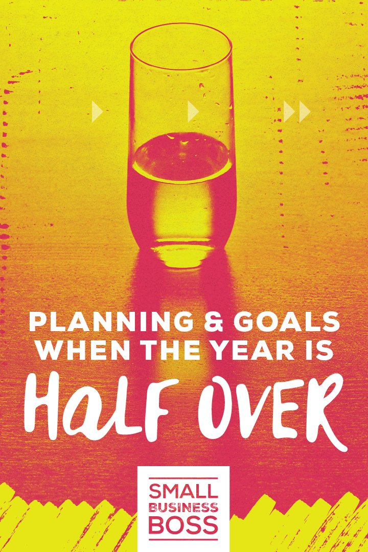The halfway point of the year is the perfect time for a status check on your biz and how you're doing with meeting your annual goals. *Pin this post for the to-do list you need to do a mid-year pulse check.* #reachyourgoals #motivation #takeaction