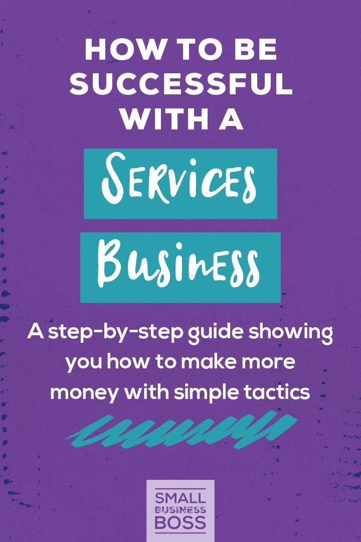 How we define business success is personal for each of us, but there's no disputing that every biz needs some key ingredients if it's going to flourish. *Pin this post for your essential guide for how to be successful with a services business. * #servicesbusiness #onlinebusiness #makemoneyonline #businesssstrategy #freelancing