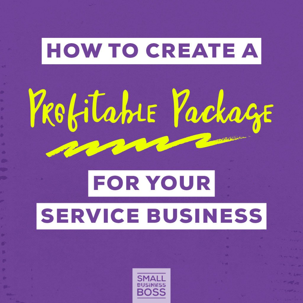 Create a profitable package