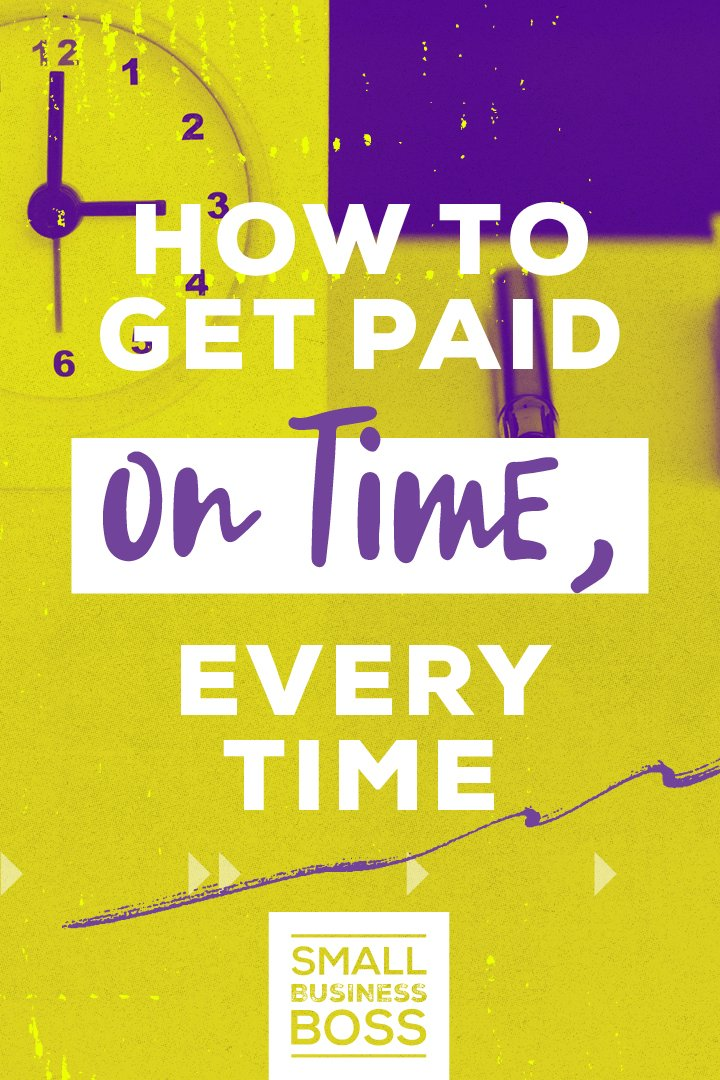 Nobody likes chasing clients to get them to pay their bills. *Pin this post for ideas on how to get paid on time, every time and what to do when a payment is late.* #onlinebusiness #freelancing #clientmanagement