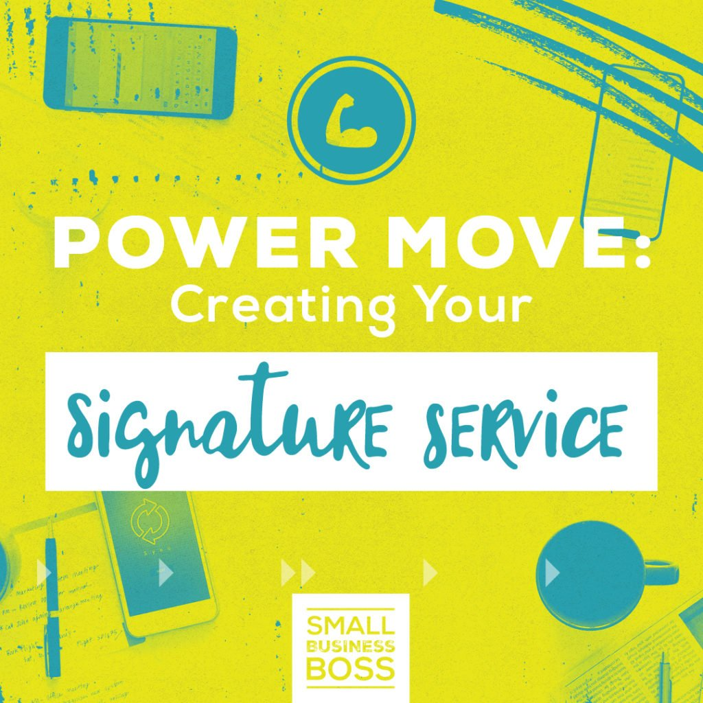 Creating your signature service