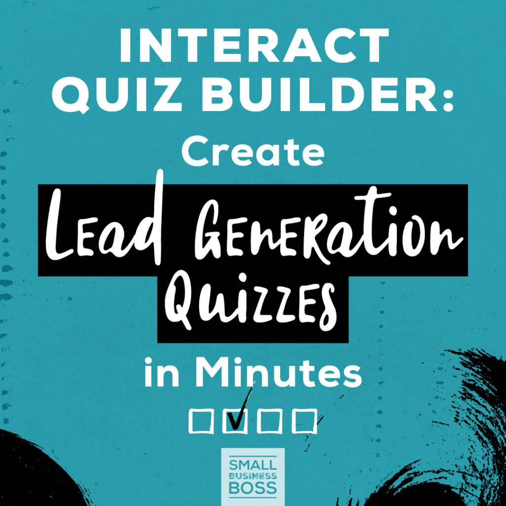 Interact quiz builder