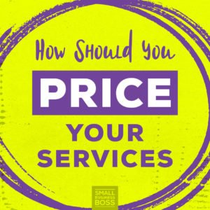 Price your services