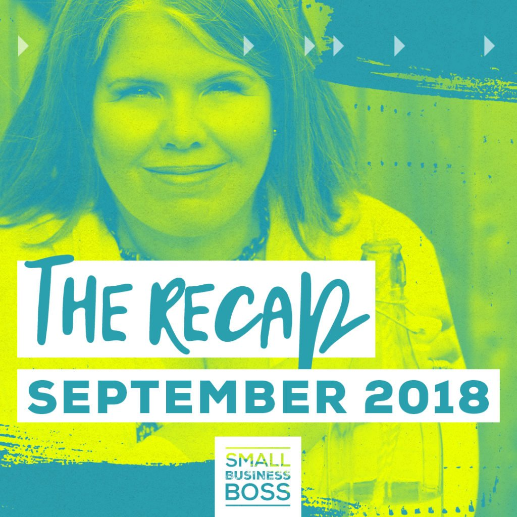 Ever wondered what goes on behind the scenes in a services business? Check out our September 2018 recap for the inside scoop.