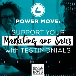 Support your marketing and sales with testimonials