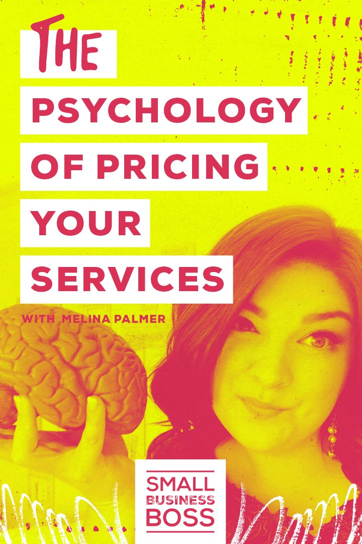 Do you know that you need to up your rates but aren't sure how to go about it? *Pin this post to learn more about the psychology of pricing.* #smallbusinessboss #servicesbusiness #pricing