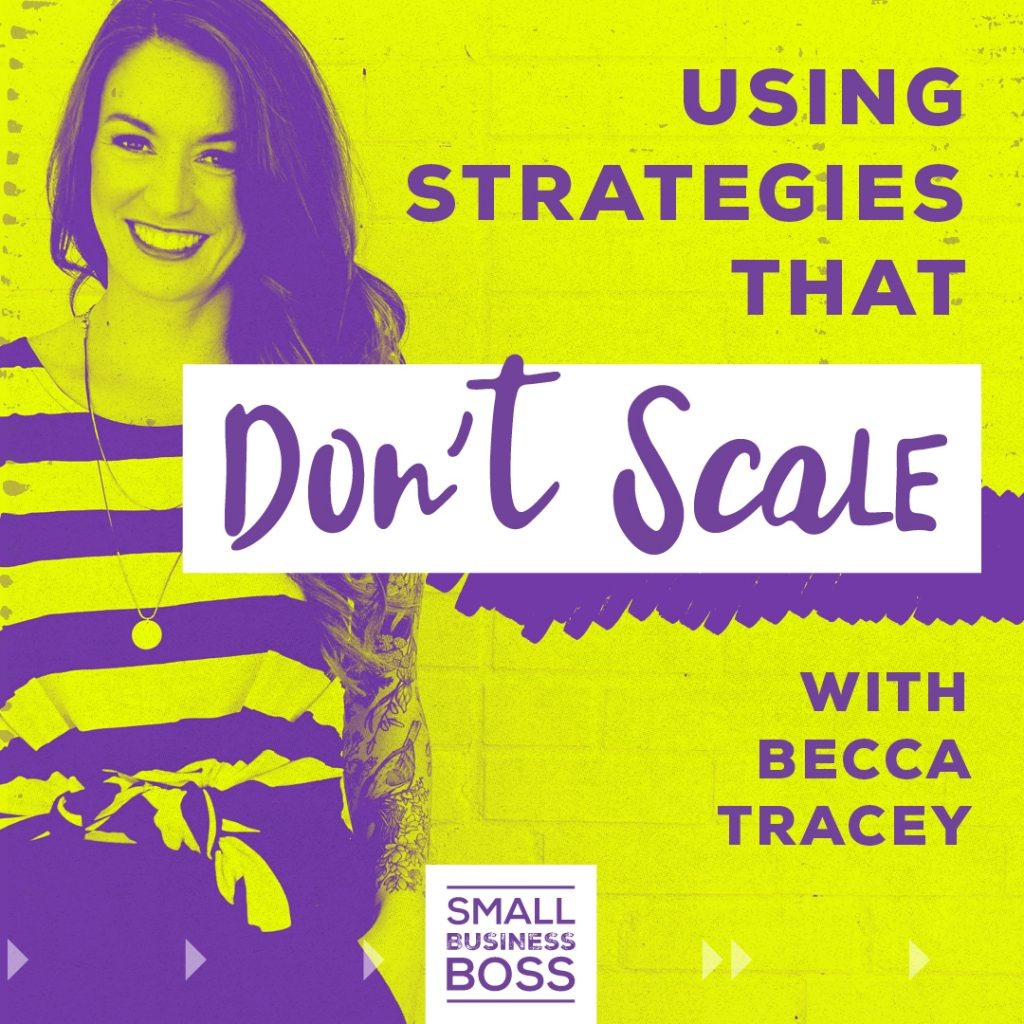 Using strategies that don't scale