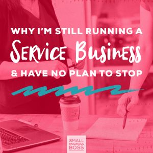 Running a service business