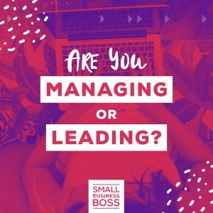Managing or leading
