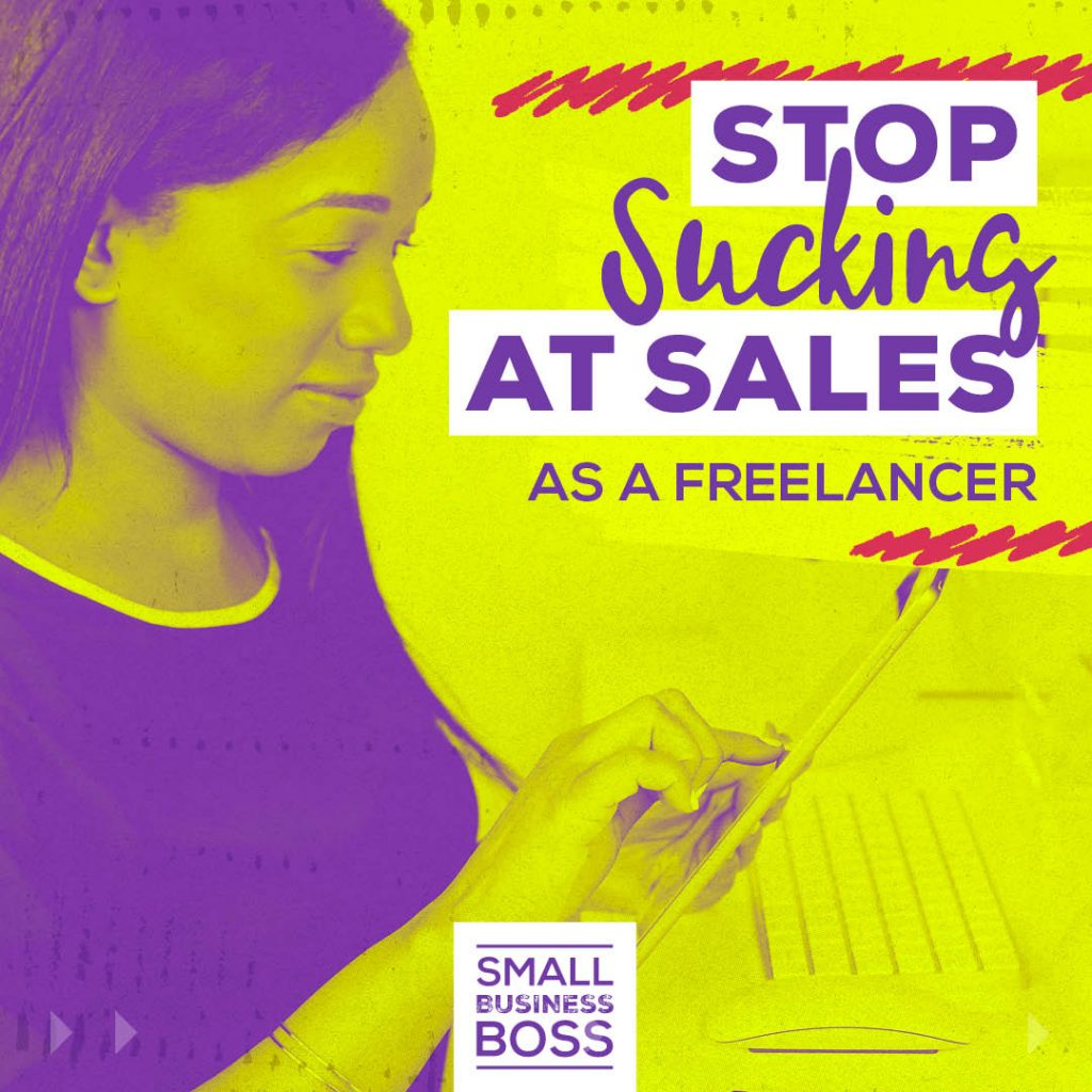 Sales as a freelancer