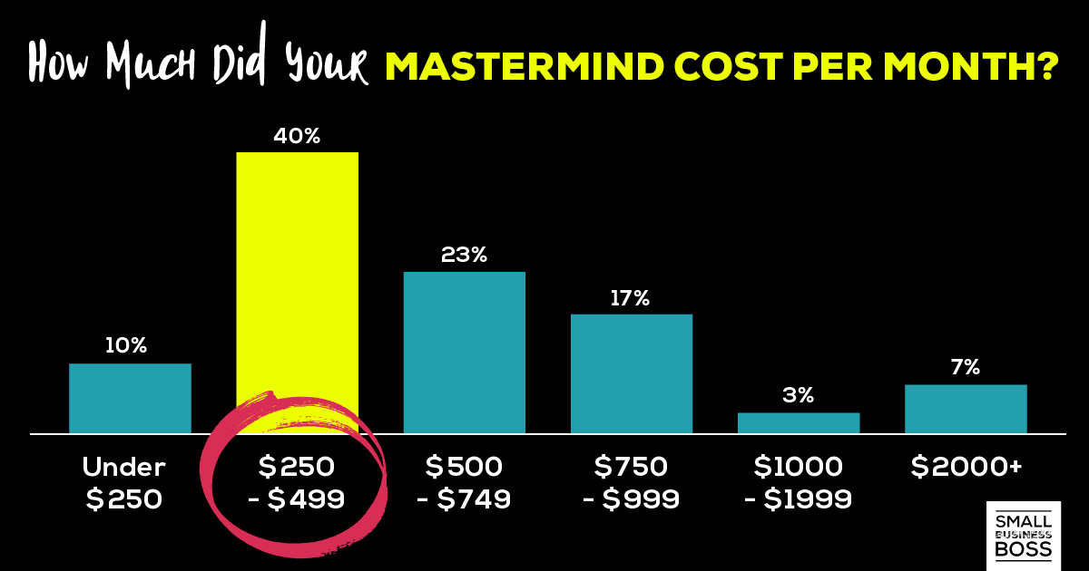 how much did your mastermind cost