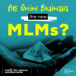 online businesses and MLMs