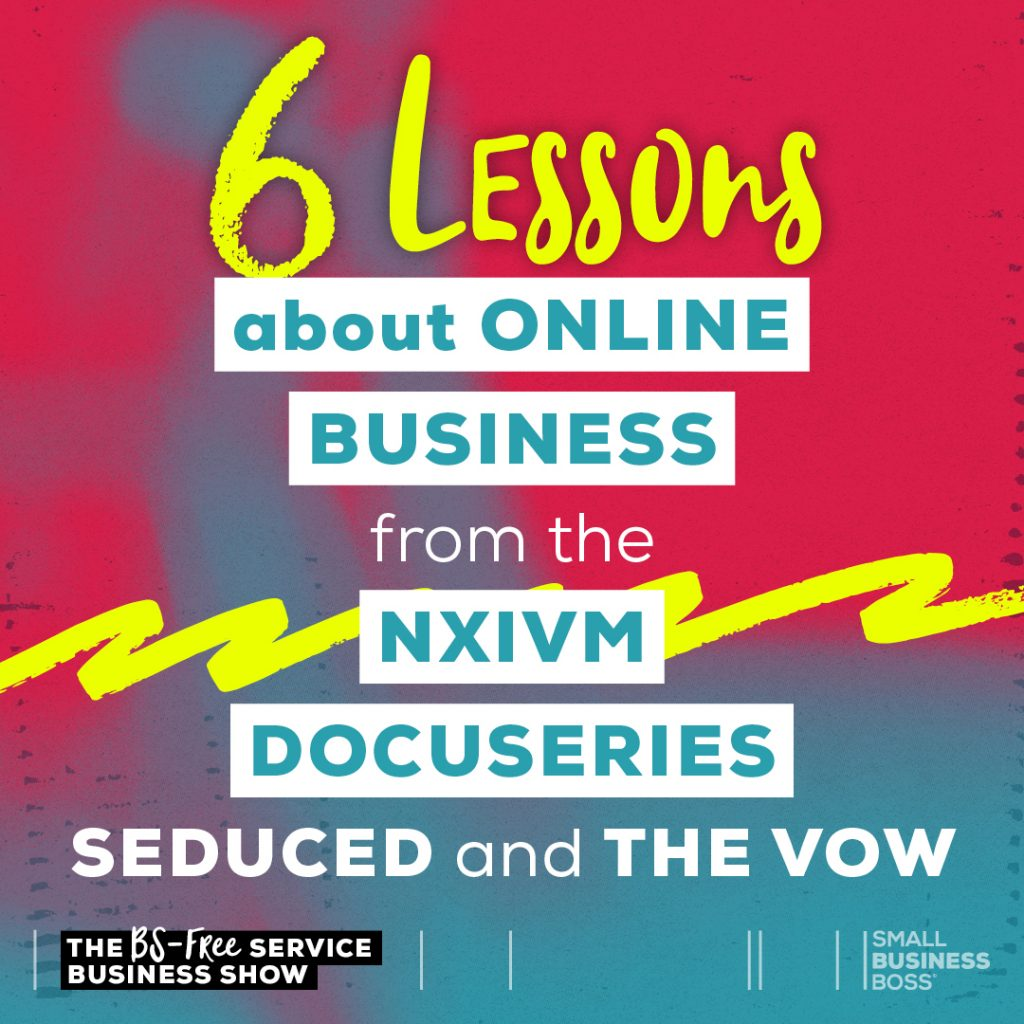 Six Lessons About Online Business From Seduced and the Vow