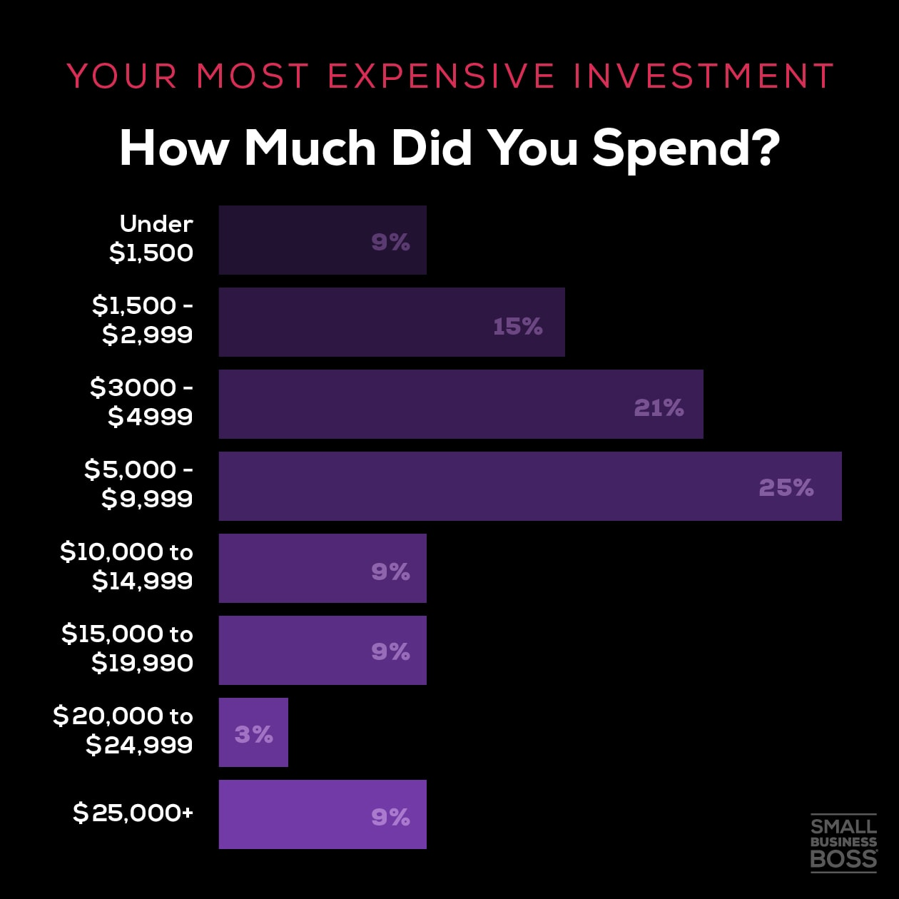 Most expensive investment