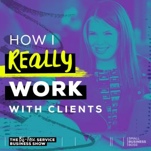 work with clients