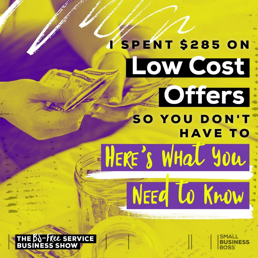 Are offers that make big promises but have a low price point actually worth it? Here's what we found when we tried nine low cost offers.